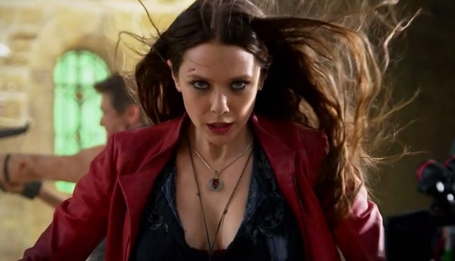 Elizabeth Olsen as Scarlet Witch