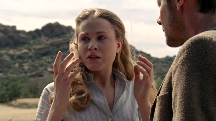 Evan Rachel Wood as Dolores in Westworld (2016)