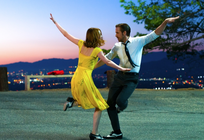 Emma Stone and Ryan Gosling in La La Land (2016)