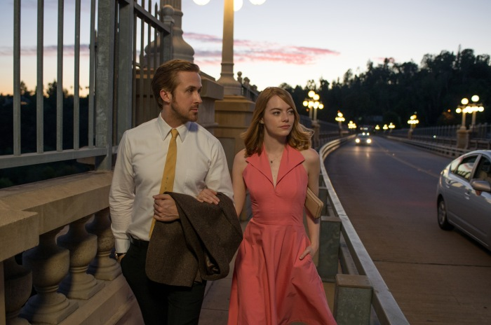 Ryan Gosling and Emma Stone in La La Land (2016)