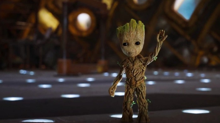 Baby Groot (voiced by Vin Diesel) in Guardians of the Galaxy Vol. 2