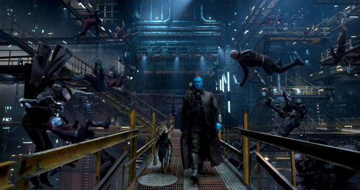 Rocket and Yondu in Guardians of the Galaxy Vol. 2
