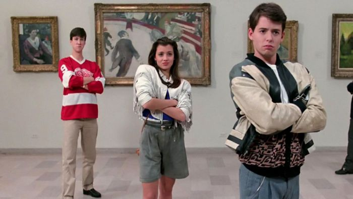 Cameron, Sloane, and Ferris