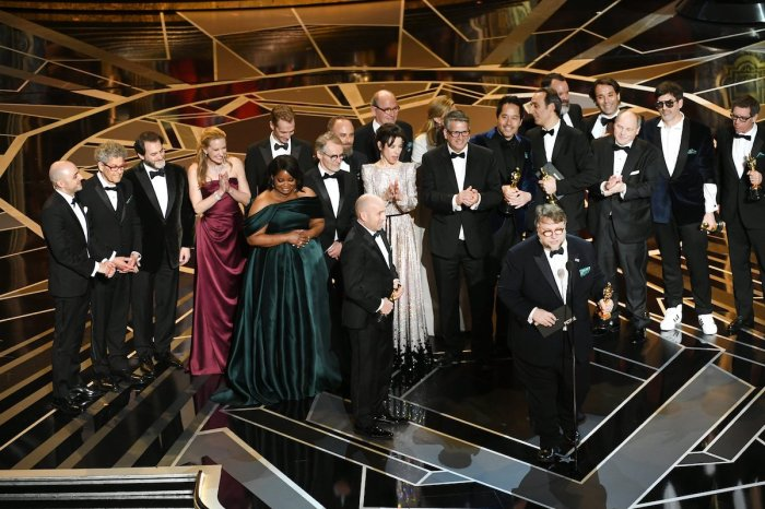 The Shape of Water wins Best Picture at the 2018 Academy Awards
